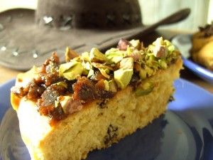 Arabian-styled Chocolate, Fig and Pistachio Cake 3