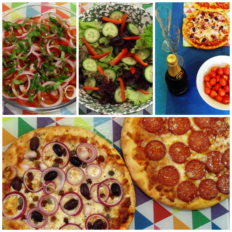 Balsamic Salad Dressing, 70's Party, Veneziana Pizza