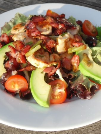 Warm Chicken, Bacon and Tarragon Salad