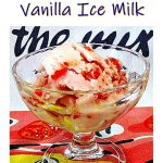 Strawberry & Vanilla Ice Milk Pin image