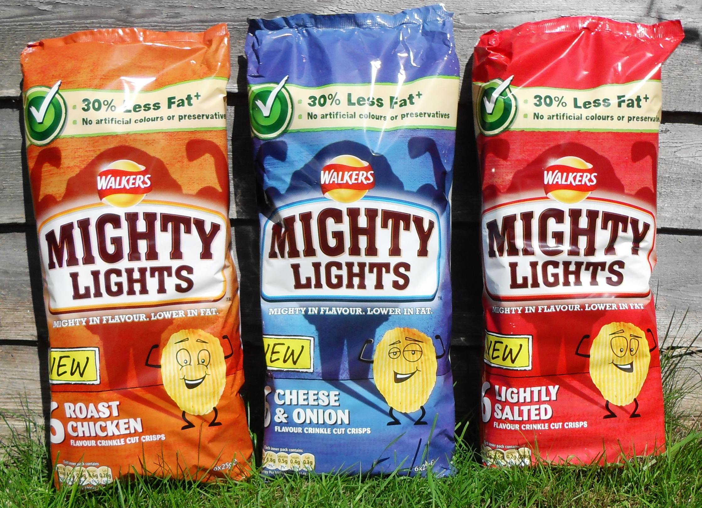 Multi-packs, crisps, lower fat