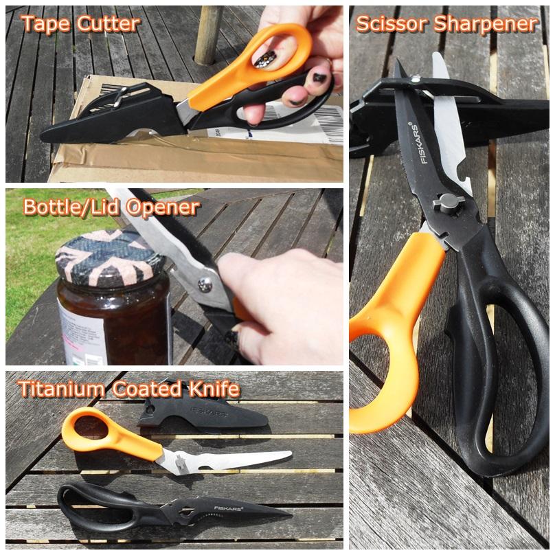 Fiskars Cuts+More Scissors
