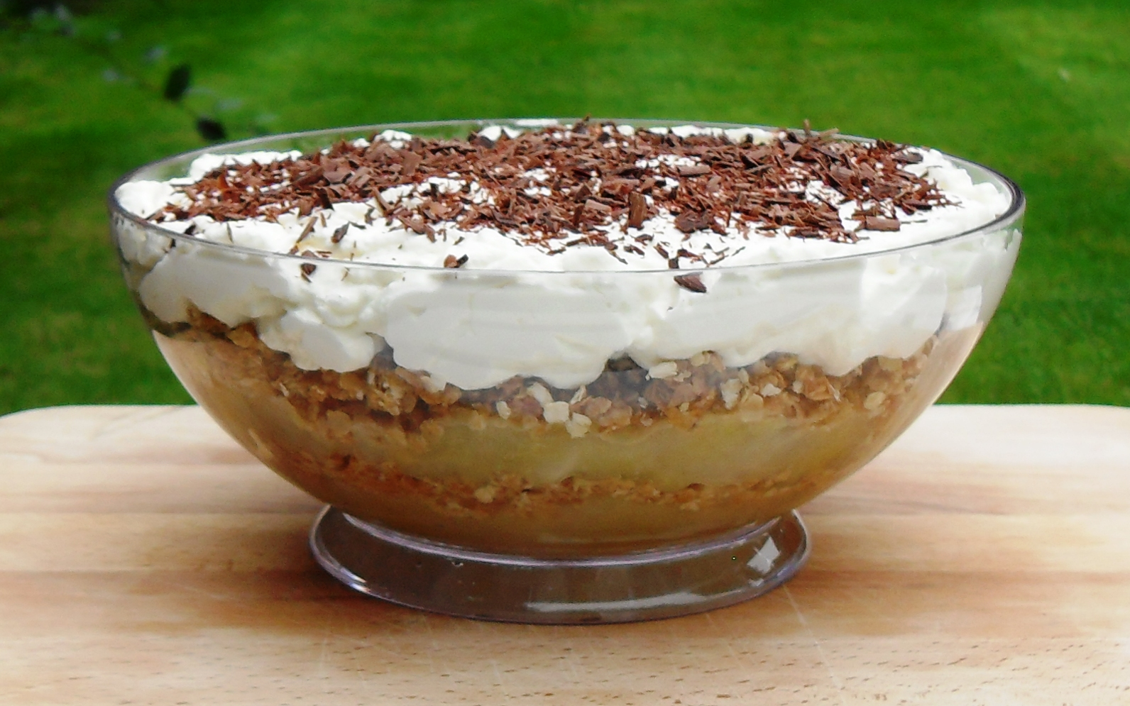 Danish Apple Cake Pudding