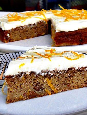 Quick Spelt Butternut Squash Cake