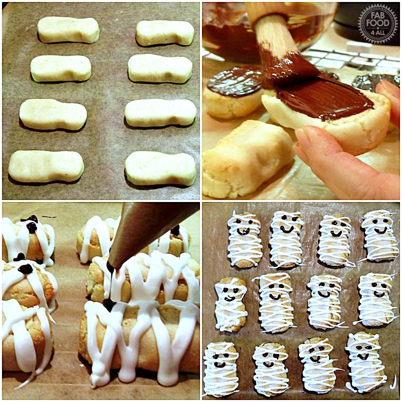 Kransakage Mummies - Fab Food 4 All