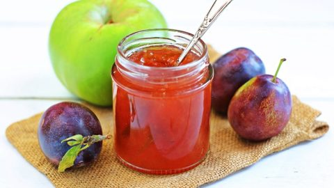 Plum & Apple Jam with step-by-step video! | Fab Food 4 All