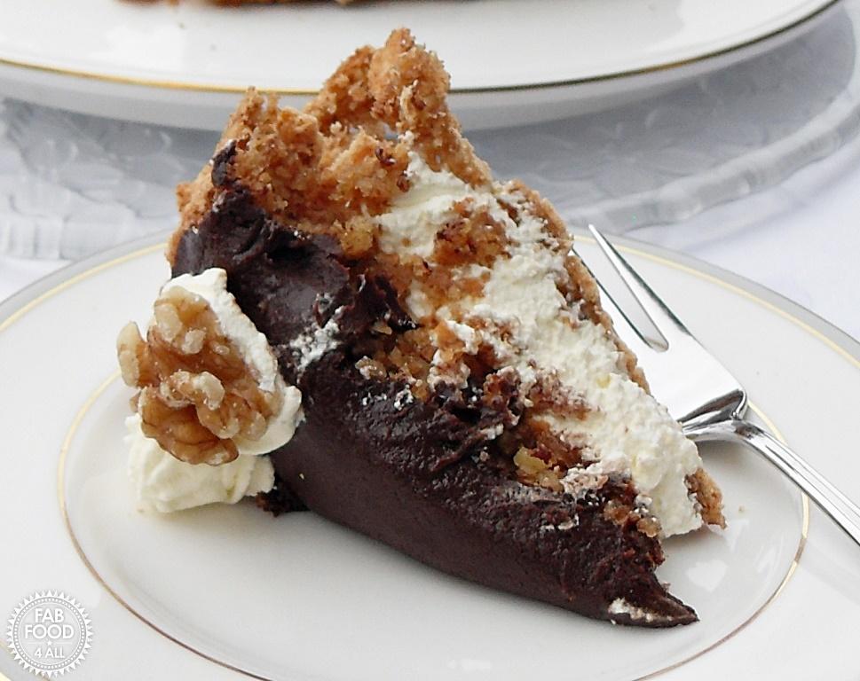 Walnut Mocha Torte - Fab Food 4 All