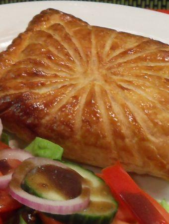 Ham, Cheese and Sweetcorn Turnovers
