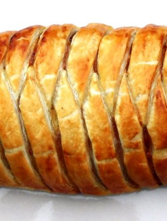 Sweet Chilli Sausage Plait