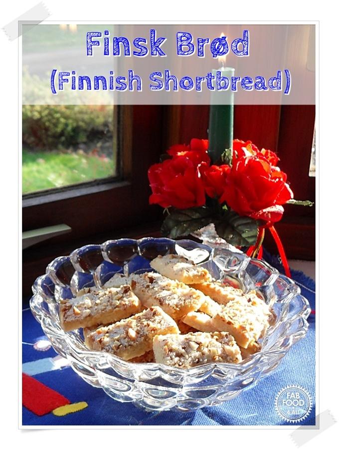 Finsk Brød (Finnish Shortbread) (Pinterest image)