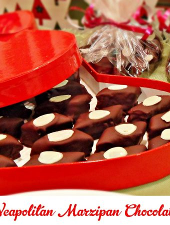 Neapolitan Marzipan Chocolates - Fab Food 4 All