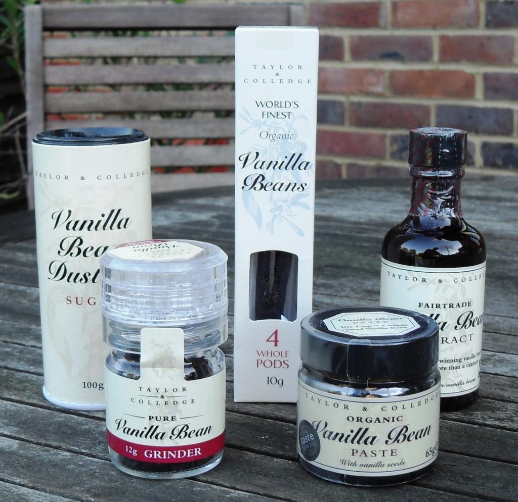 Vanilla pod, vanilla paste, vanilla bean, vanilla extract, vanilla grinder