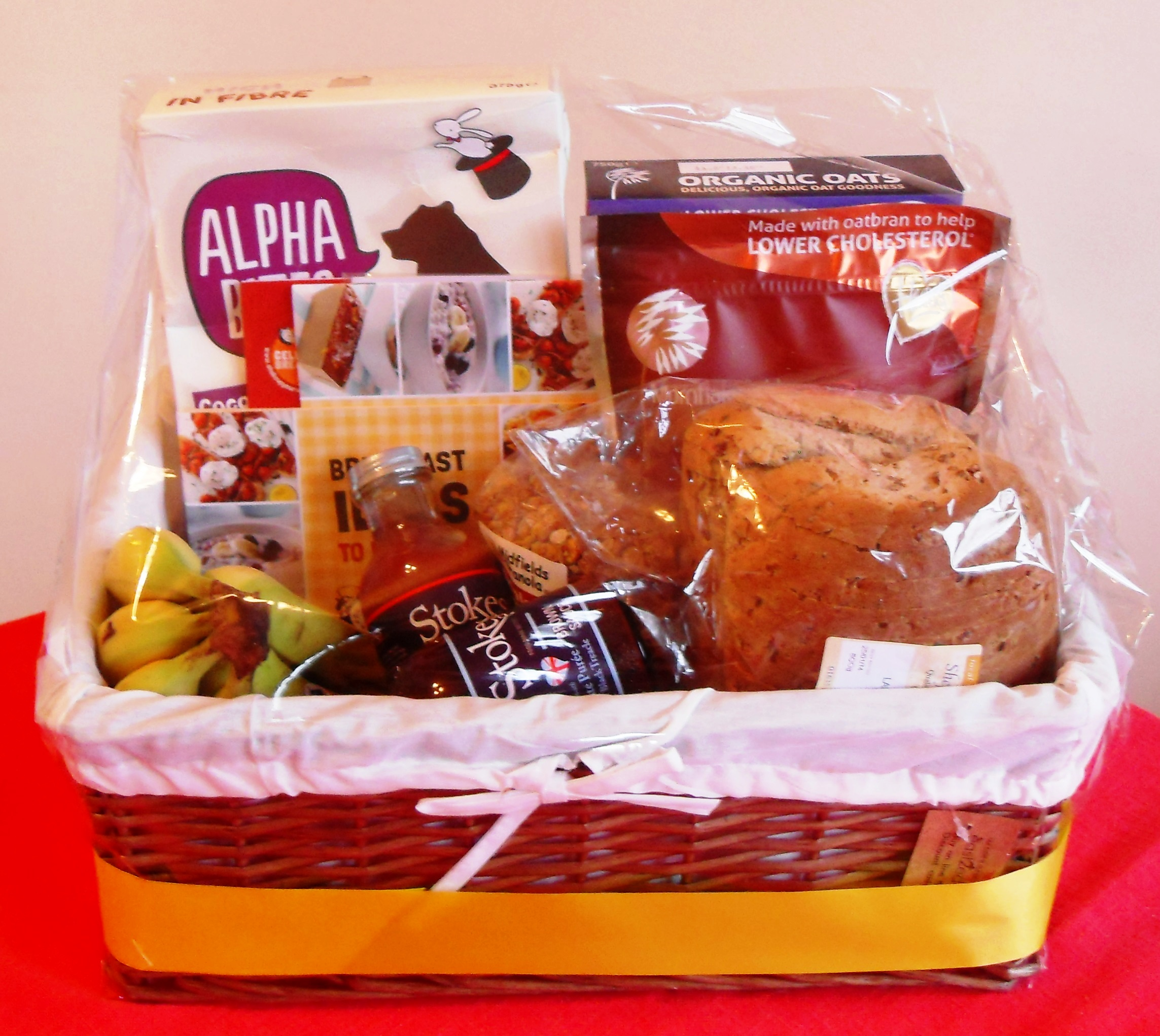 Hamper, Stokes Sauces, Cereal, Bananas