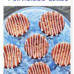 Chocolate Chip Marmalade Cakes Pinterest image.