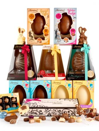 Thorntons, Easter, chocolate, eggs, lollies, bunnies, hopalot