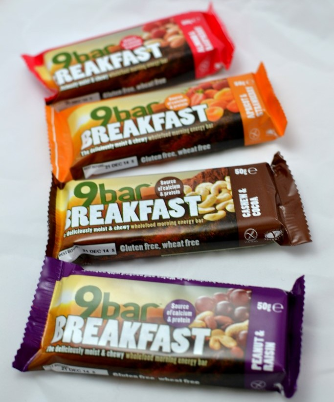 Healthy, nuts, seeds, breakfast bar