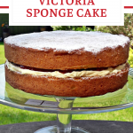 Victoria Sponge Cake Pin Image