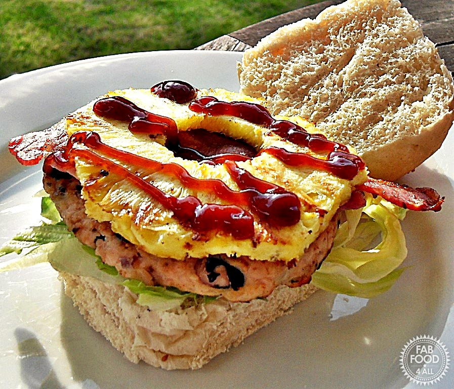 Taste of Brazil Turkey Burgers - Fab Food 4 All