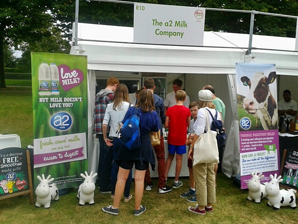 BBC Good Food Festival Hampton Court, 2014, a2 milk