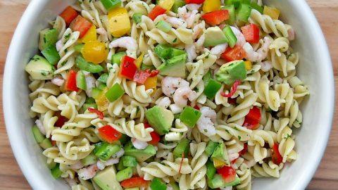 Chilli Prawn and Pasta Salad - Fab Food 4 All