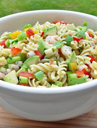 Chilli Prawn and Pasta Salad