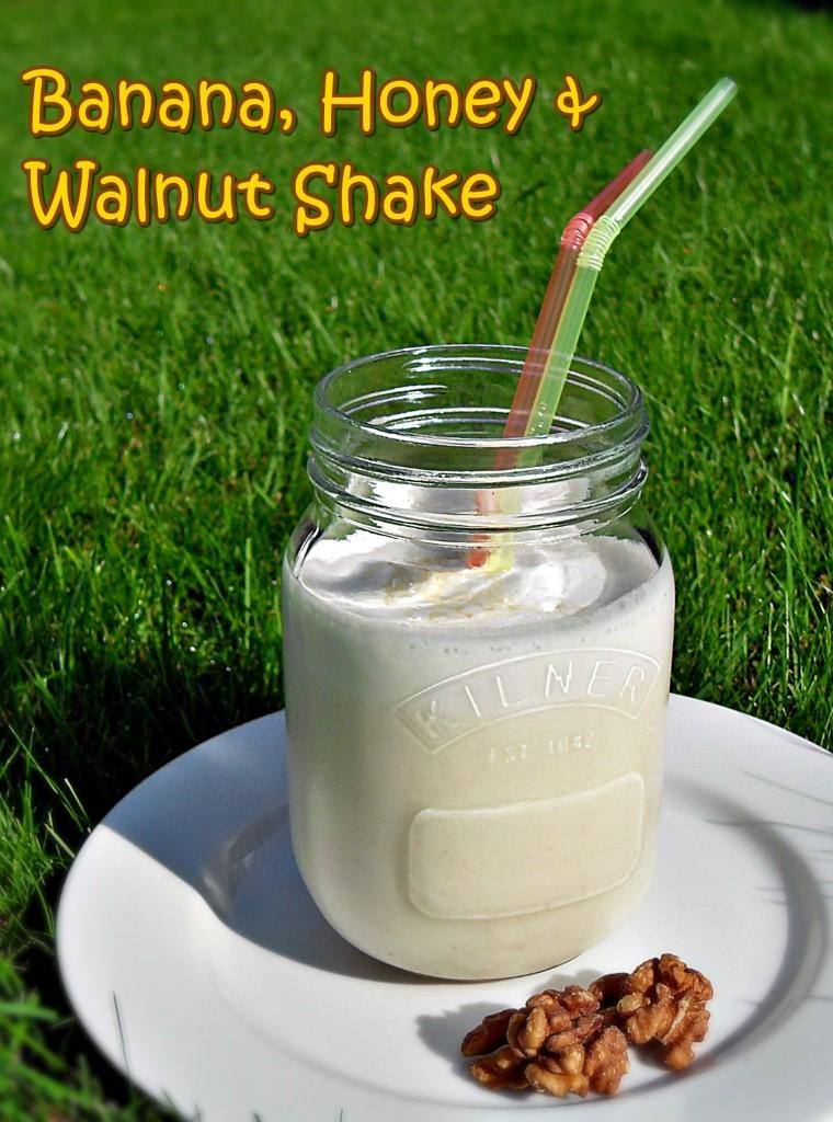 Banana, Honey & Walnut Shake