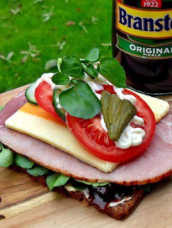 Ploughman's Open Sandwich
