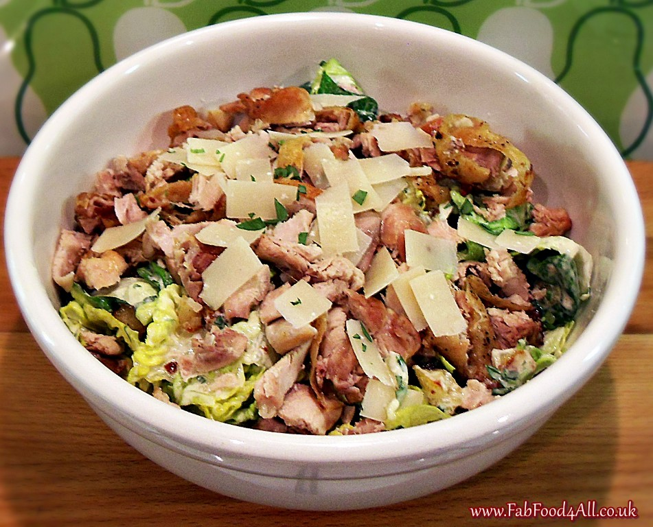 Ceasar's Crispy Chicken Salad