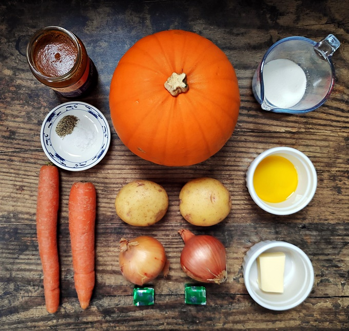 Curried Pumpkin Soup Ingredients