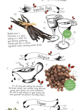 Just Ingredients 10 Ways to Spice Up Your Christmas, holidays, ingredients, tips, recipes,