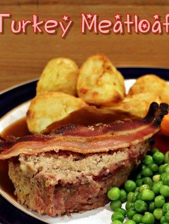 Turkey Meatloaf & ActiFry Roast Potatoes
