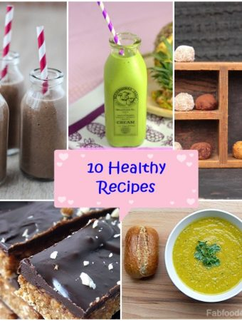 10 Healthy Recipes to get you motivated!
