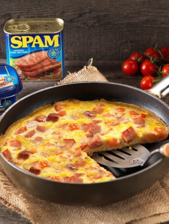 SPAM® Brunch Frittata, eggs, breakfast, lunch, easy