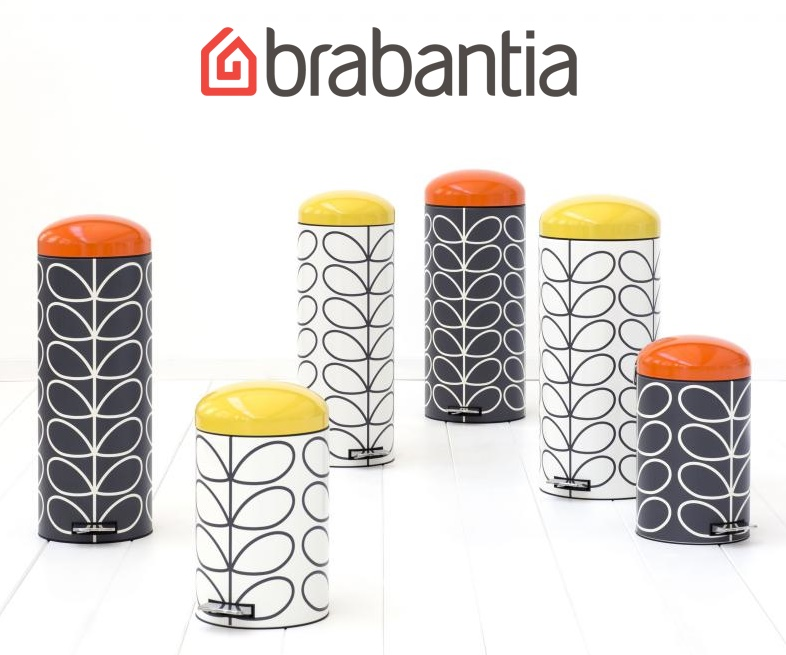 Win an Orla Kiely designed Brabantia Retro Bin worth £132, UK and Ireland, competition, giveaway