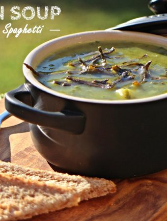 Green Soup with Sea Spaghetti & my 1p bargains!