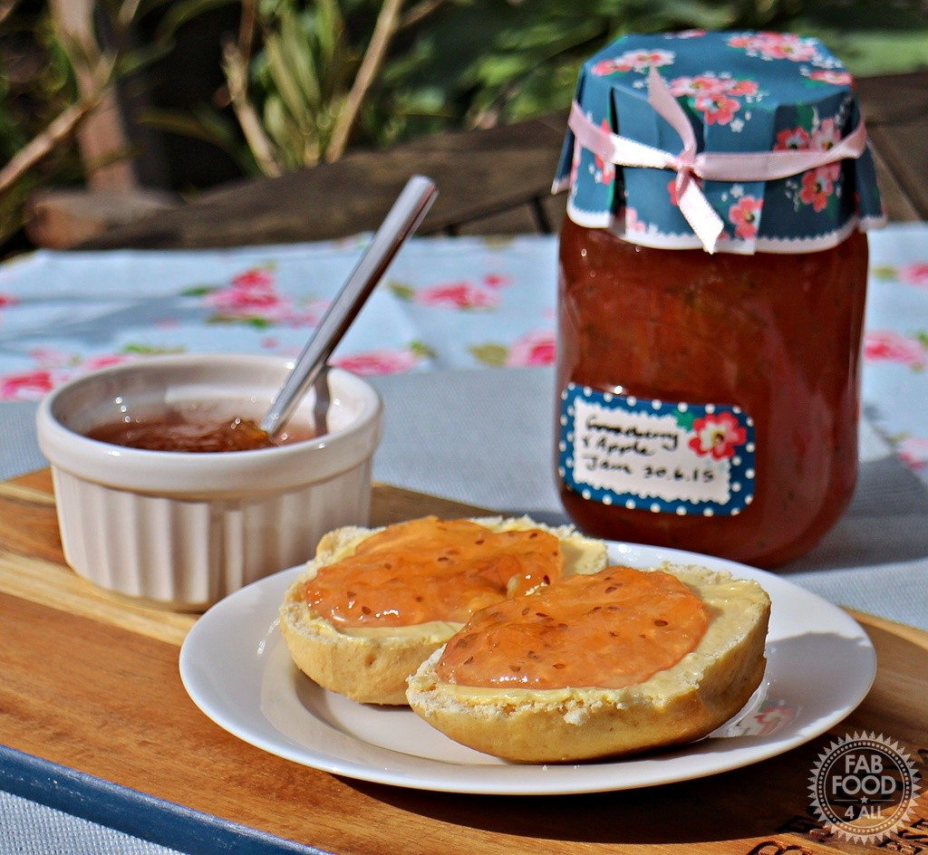 Gooseberry & Apple Jam - Fab Food 4 All