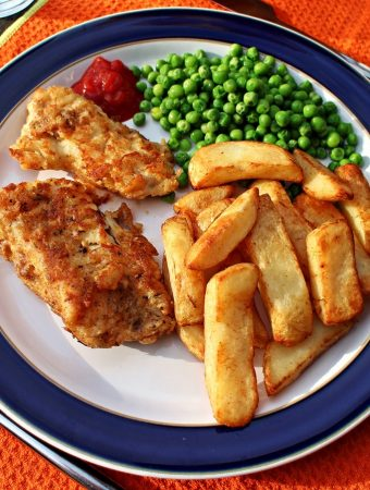 Fish and Chips #KidsTeatimeTakeover - Fab Food 4 All