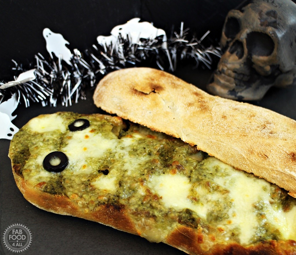 Mummy in a Coffin Pizza - Fab Food 4 All