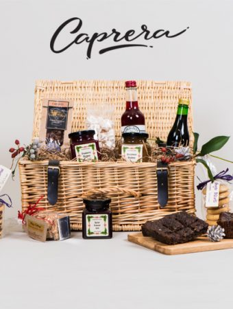 Caprera Flavours of Christmas Gift Hamper Giveaway worth £57 – Closed