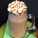 Cheat's Iced Salted Caramel Mocha - Fab Food 4 All