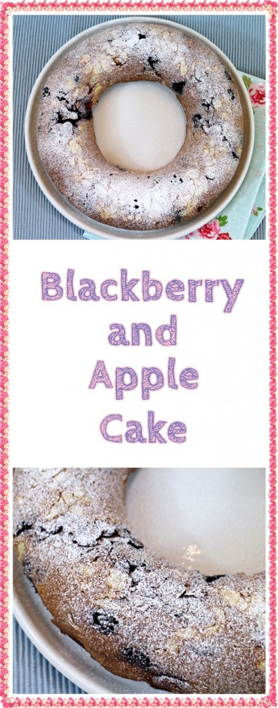Blackberry and Apple Cake = Fab Food 4 All