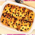 Chocolate Orange Panettone Pudding - Fab Food 4 All
