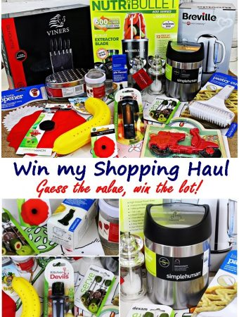 Win my Exclusive Shopping Haul with E.ON Energy - Fab Food 4 All