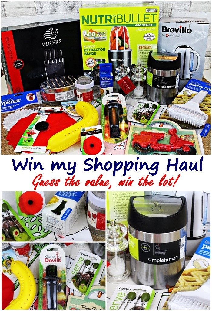 Exclusive Shopping Haul Giveaway with E.ON Energy