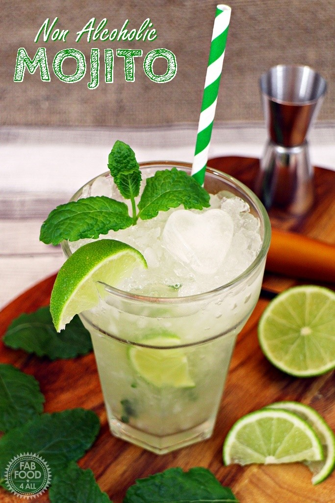 Non Alcoholic Mojito - Fab Fod 4 All
