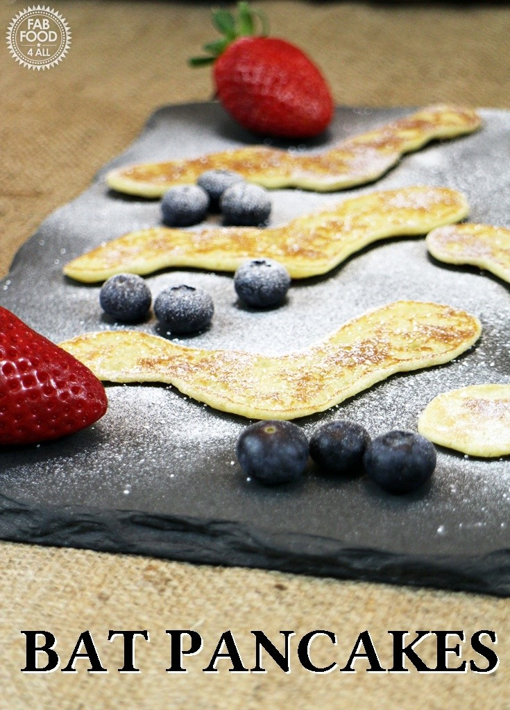 Bat Pancakes for Hotel Transylvania 2 - Fab Food 4 All