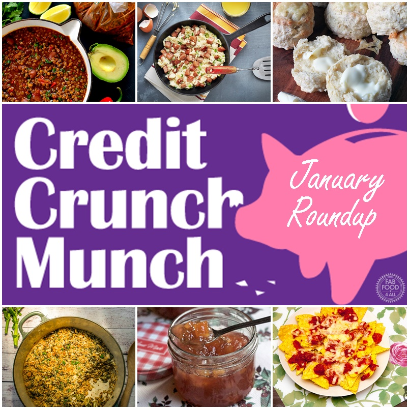January's #CreditCrunchMunch Roundup - Fab Food 4 All