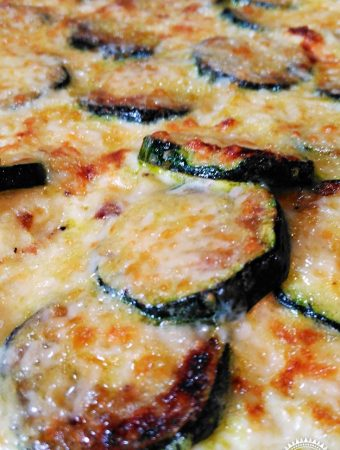 Cheesy Courgette Omelette - Fab Food 4 All