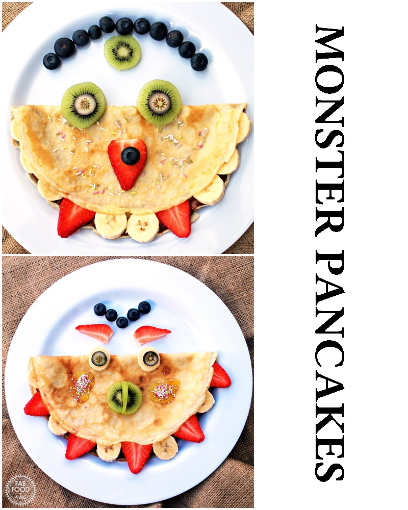 Monster Panccakes - Fab Food 4 All