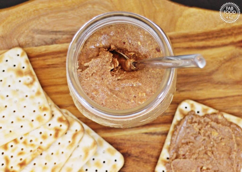 One Ingredient Crunchy Peanut Butter